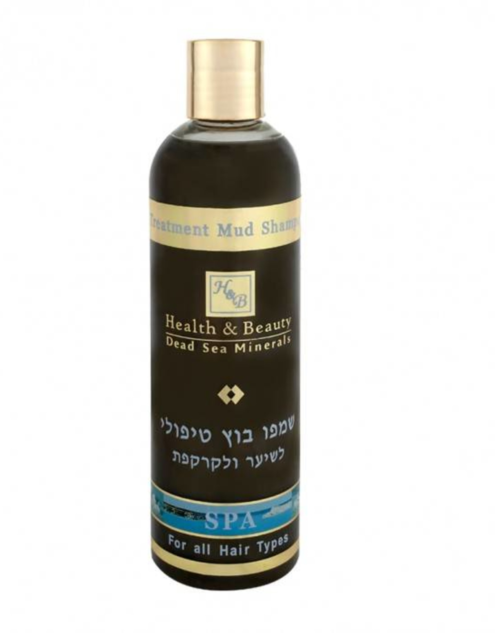 H&B Dead Sea Minerals Moddershampoo; 400 ml.