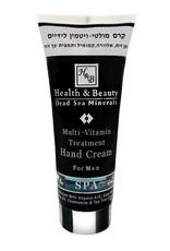 H&B Dead Sea Minerals Handcrème voor mannen; 200 ml.