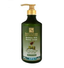 H&B Dead Sea Minerals Bad- en douchegel olijfolie & honing