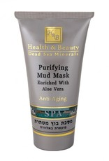 H&B Dead Sea Minerals Reinigend moddermasker; 150 ml.