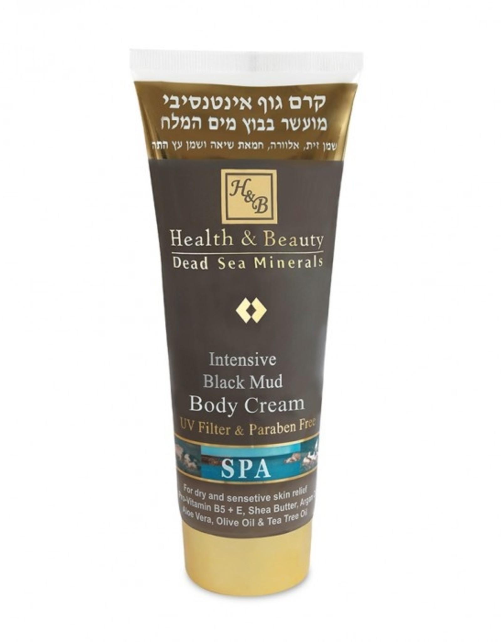H&B Dead Sea Minerals Bodycrème met dode zeemodder - Intensief