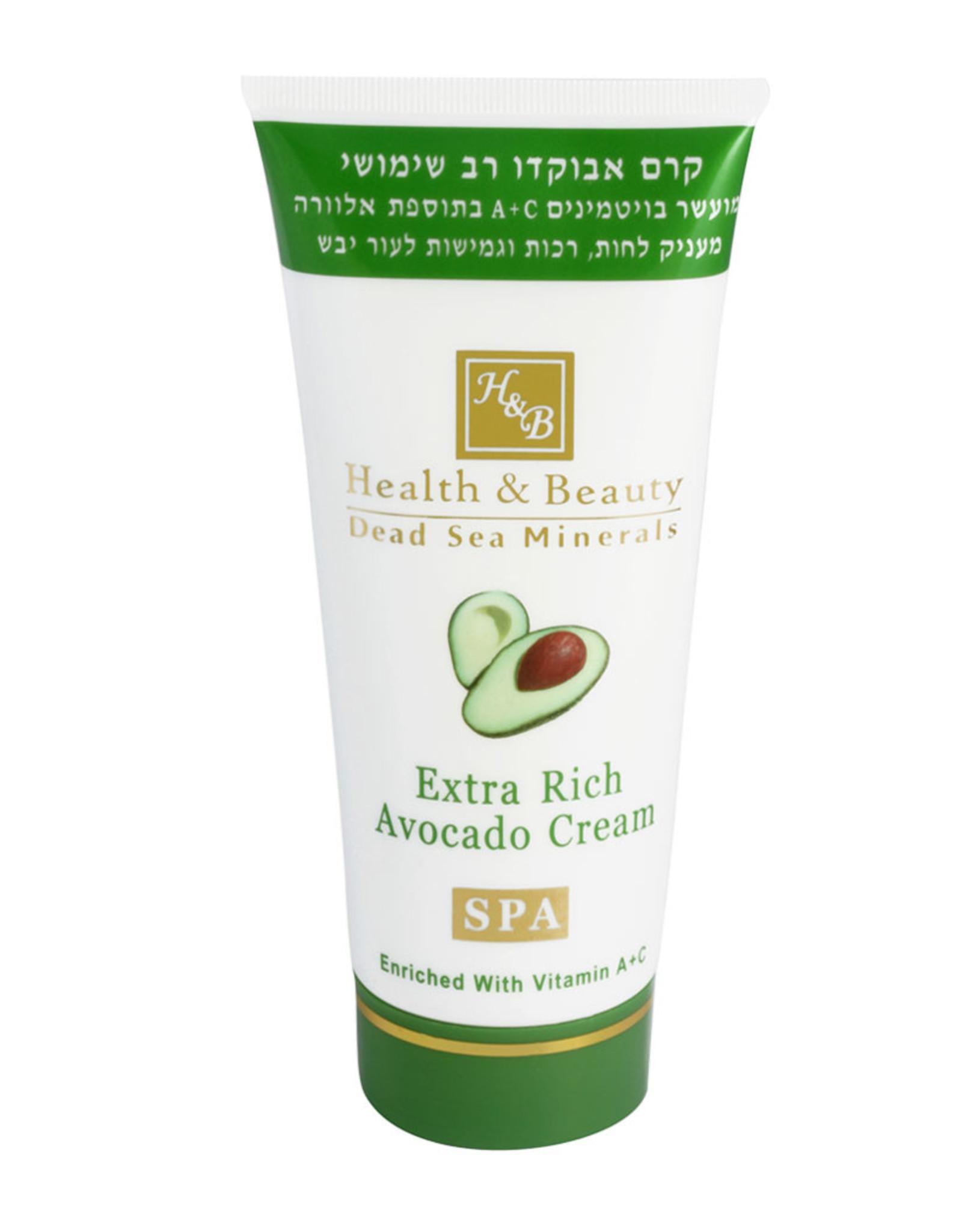 H&B Dead Sea Minerals Avocado bodycrème - 180 ml