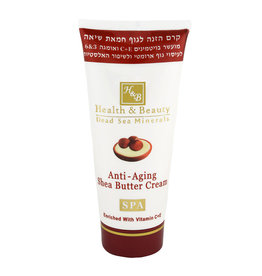 H&B Dead Sea Minerals Shea butter bodycrème