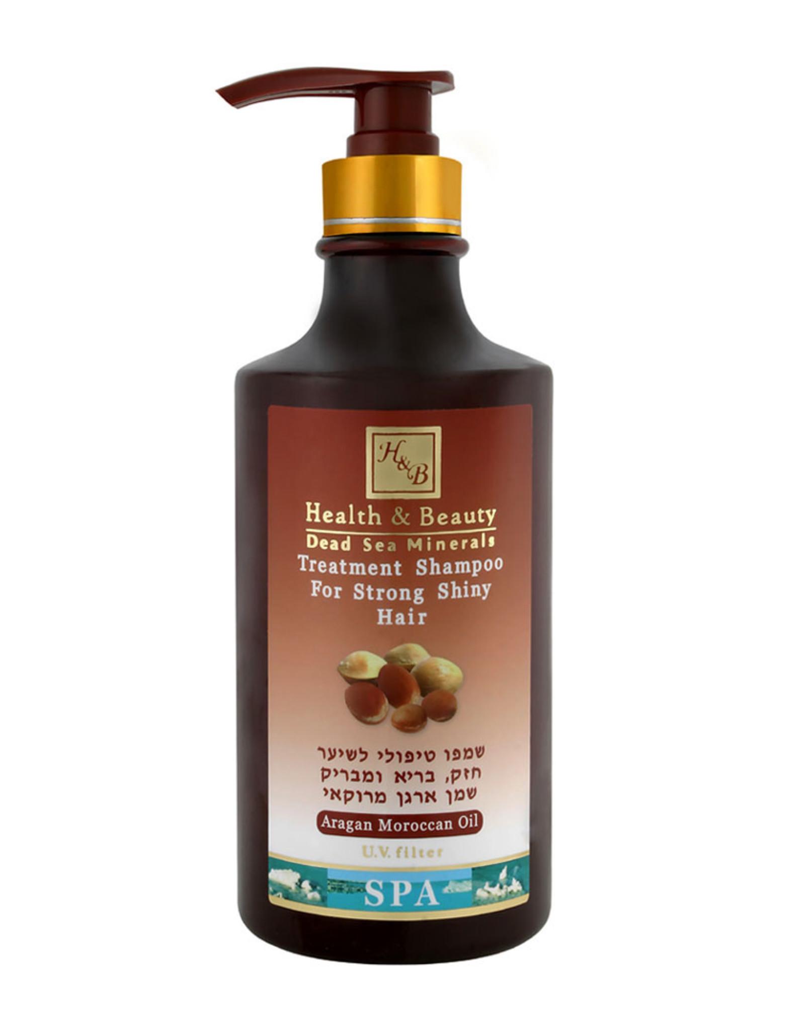 H&B Dead Sea Minerals Arganolie shampoo; 780 ml.