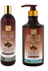 H&B Dead Sea Minerals Arganolie shampoo; 400 ml.