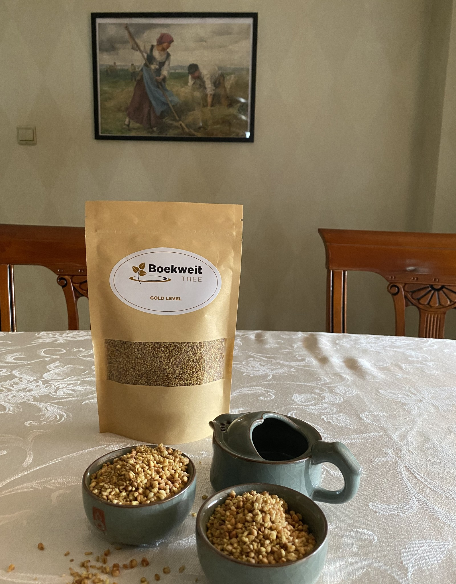 Boekweitthee® Biologische gold level boekweitthee; 125 gram