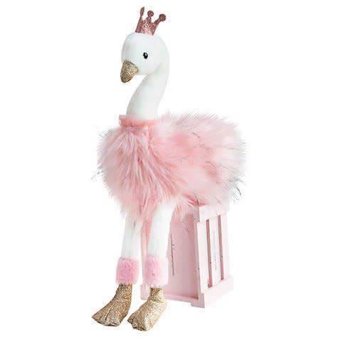 Dou Dou Glitter Swan Plush
