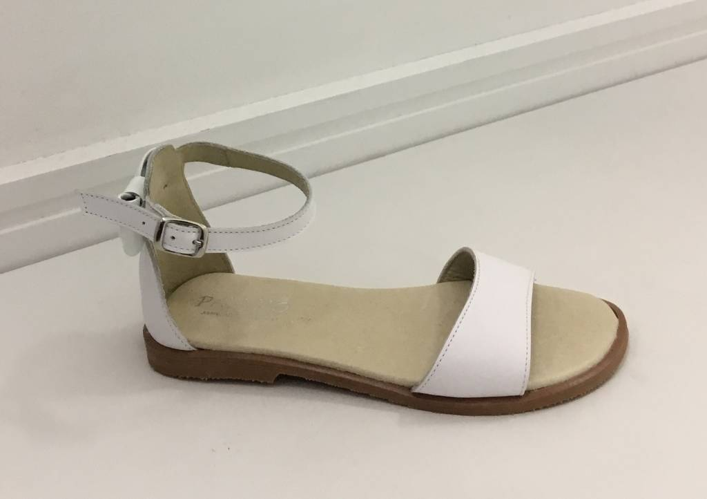 Panyno Panyno Ankle Strap Sandal with bow back