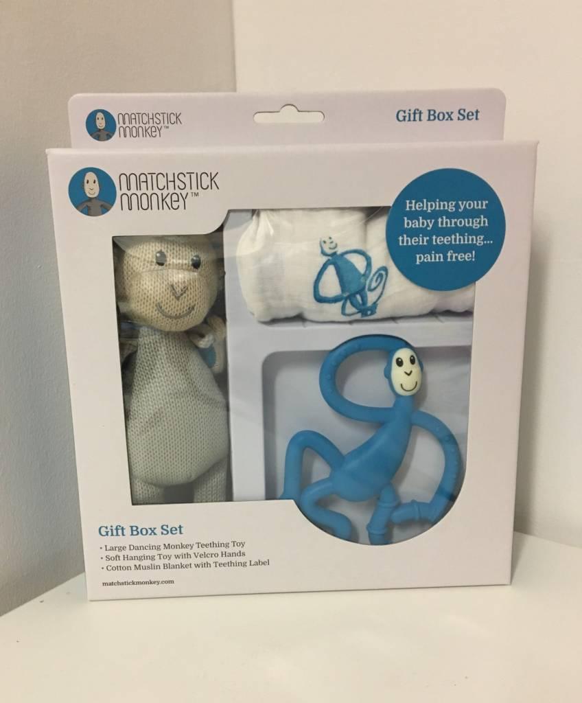 Matchstick Monkey Gift Box Set - Blue