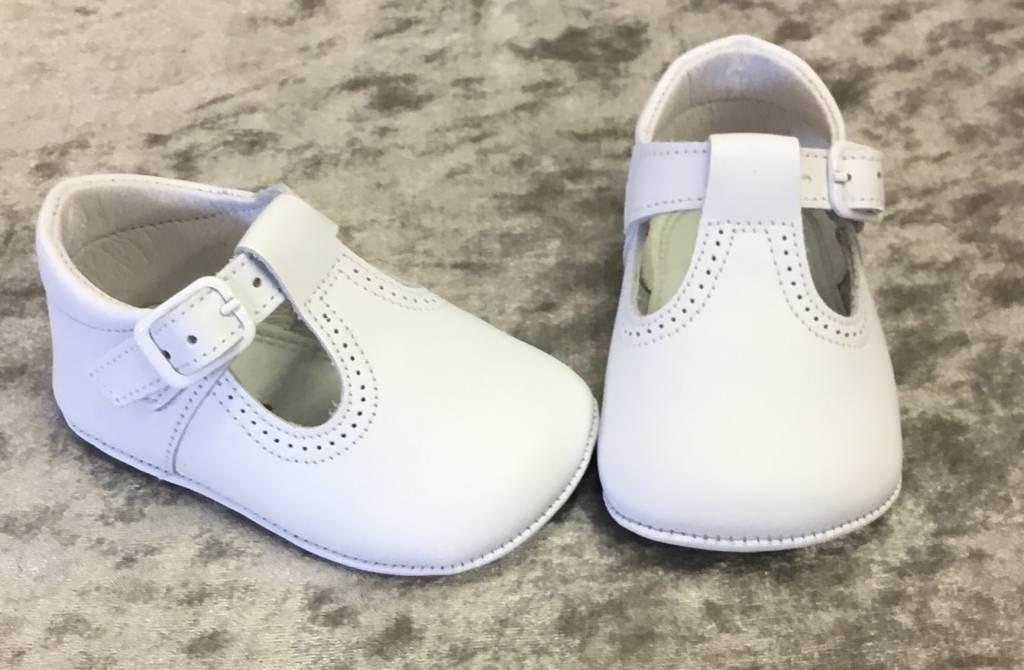 leon Leon T bar Leather Pram Shoe