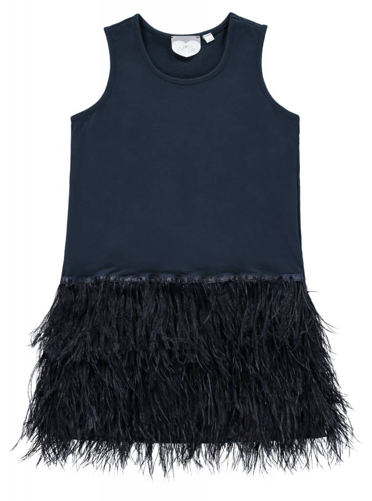 A Dee ADee Dupa Feather Dress - AW18