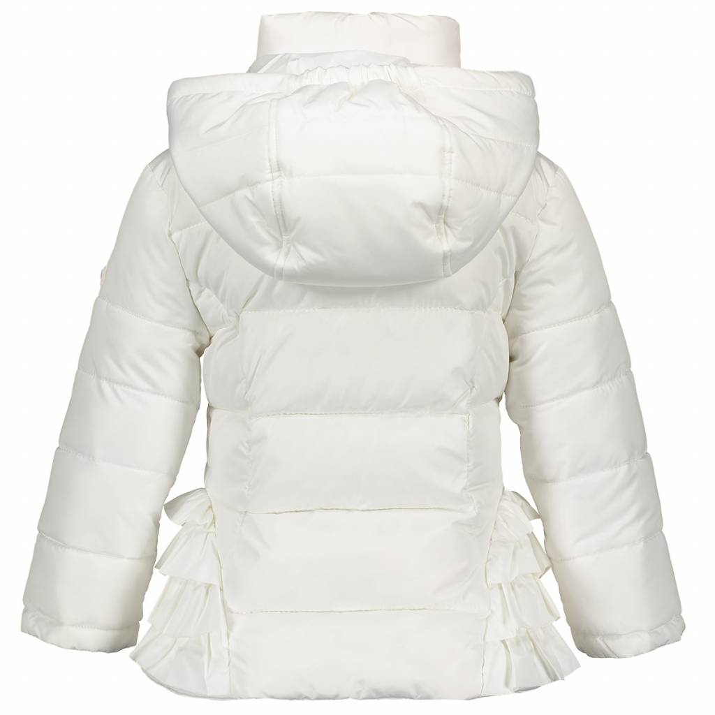 Lechic LeChic Girls Coat with side ruffles