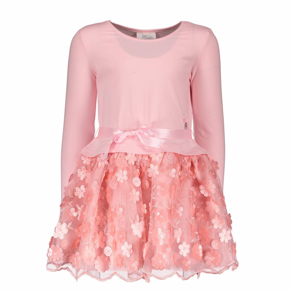 Lechic LeChic Girls Pink Flower Dress