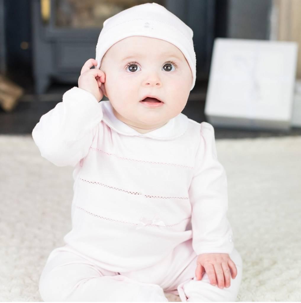Emile et Rose Emile et Rose Nessa Babygrow with hat