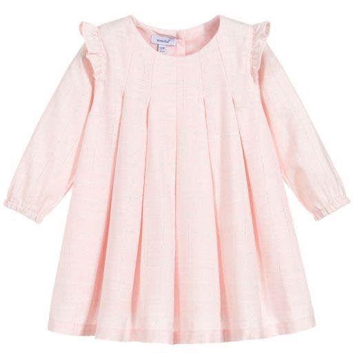 Absorba Absorba Girls Pink Pleated Dress