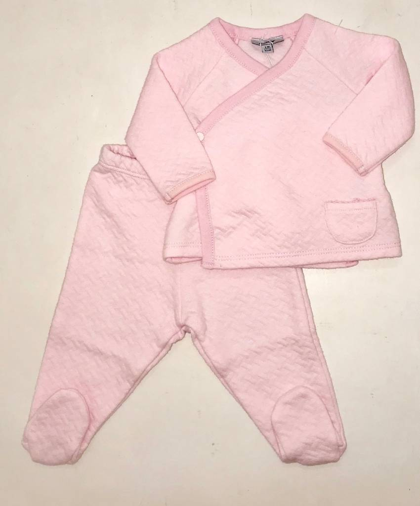 Absorba Absorba Girls Pink Quilted 2 Piece