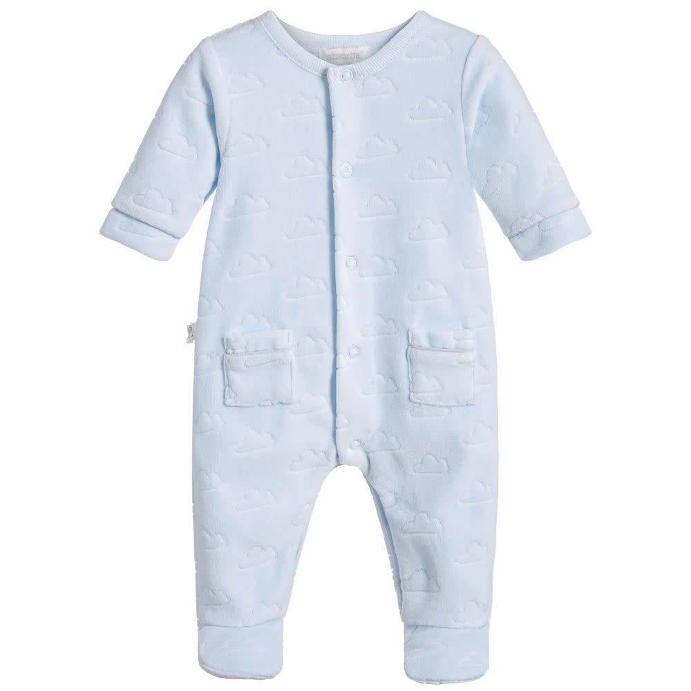 Absorba Absorba Boys Blue Cloud Babygrow