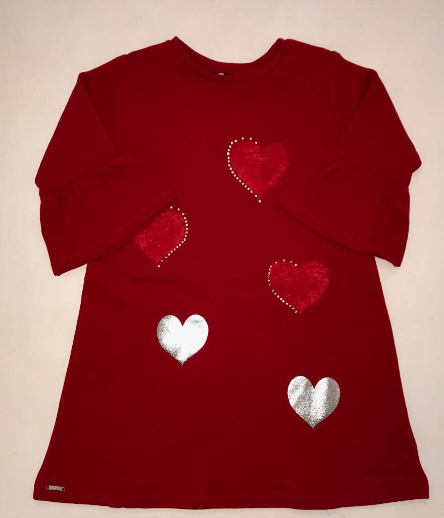 Sarabanda Sarabanda Girls Red Jersey Dress
