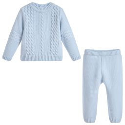 Sarah Louise Sarah Louise 2 Piece Cable Knit Trouser Set