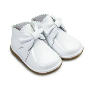 Borboleta Borboleta Sharon White Patent Boots