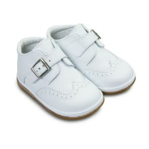 Borboleta Borboleta Chico Whte Leather Boots