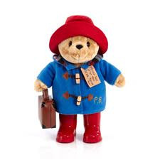 Paddington Bear With Case & Botts 34cm