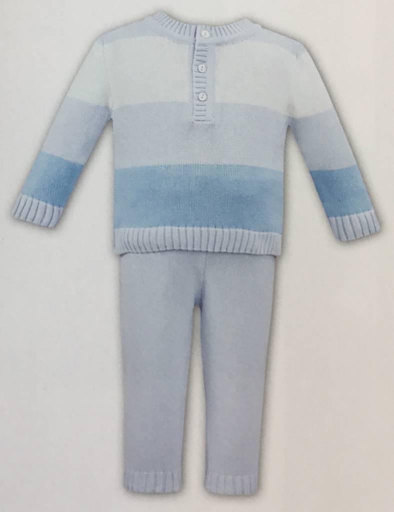 Dani Dani Boys Wool Stripe 2 Piece Style D09264