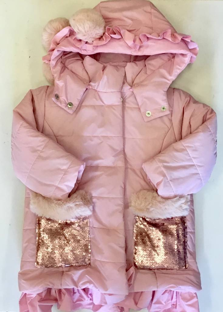 Little Lady Little Lady Girls Jacket With Sequins