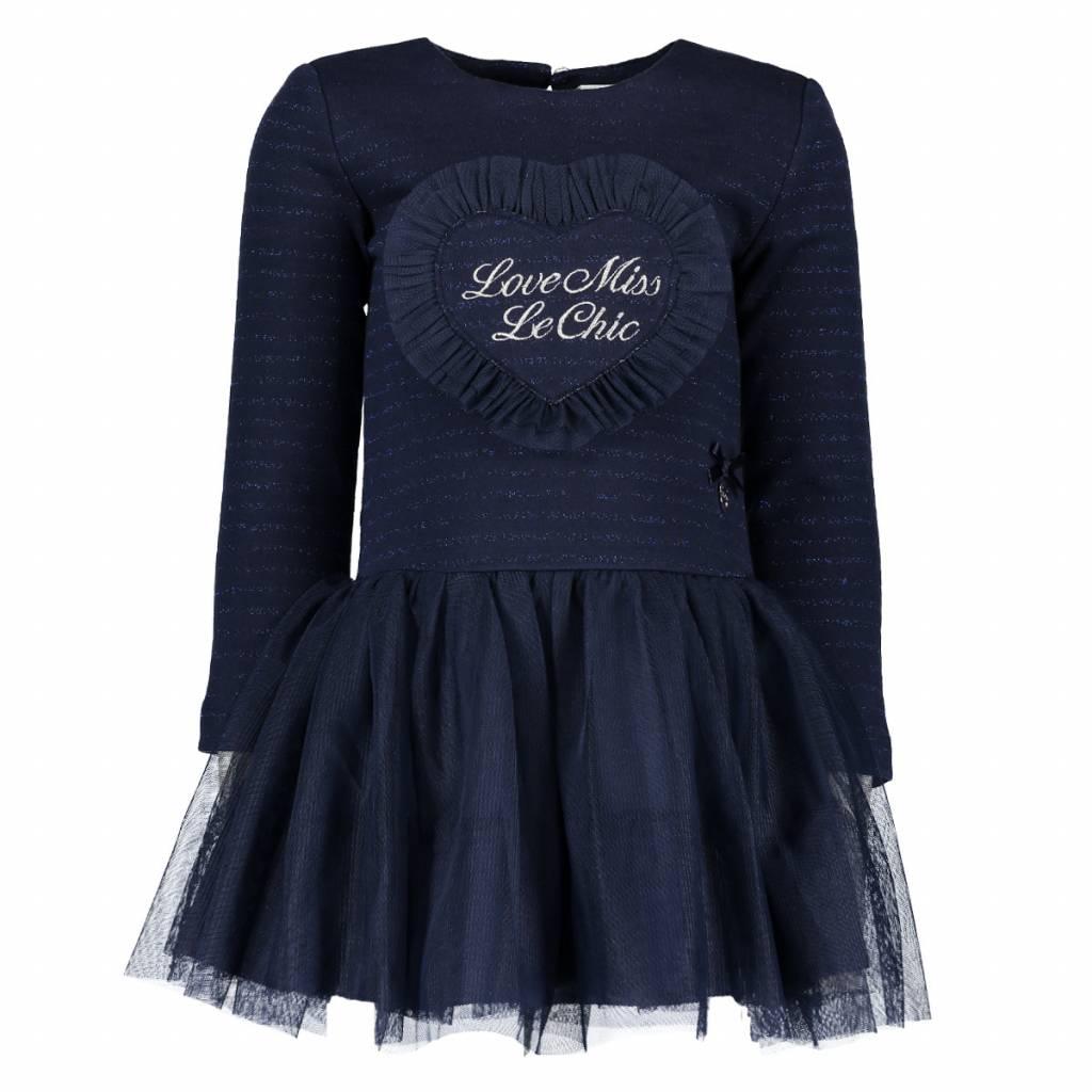 Lechic LeChic Navy Girls Tulle Dress