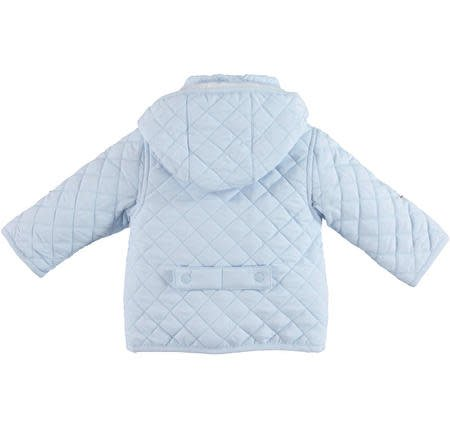 Ido iDO Boys Blue Quilted Jacket