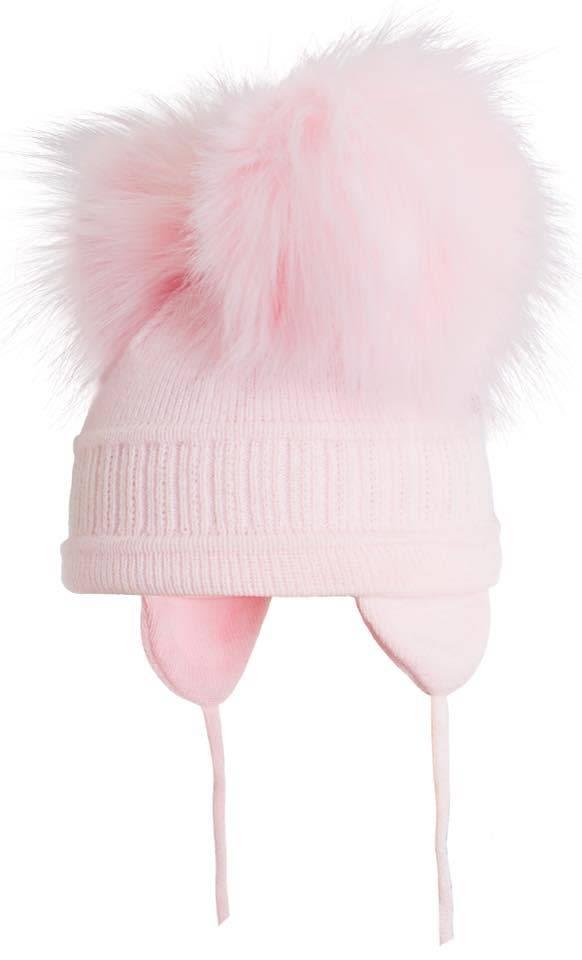 Satila Satila Tindra Double Pom Pom Pink Hat
