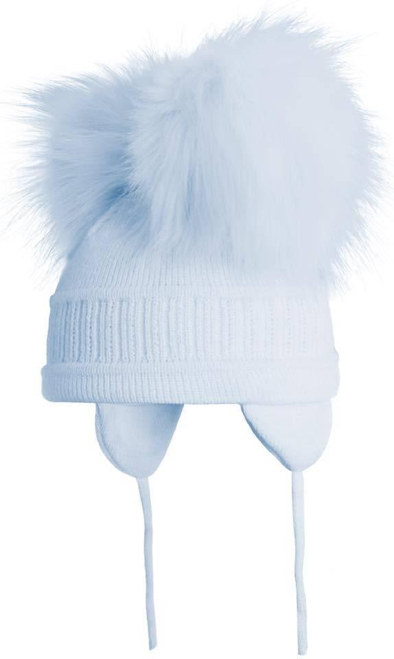 Satila Satila Tindra Blue Double Pom Pom Hat