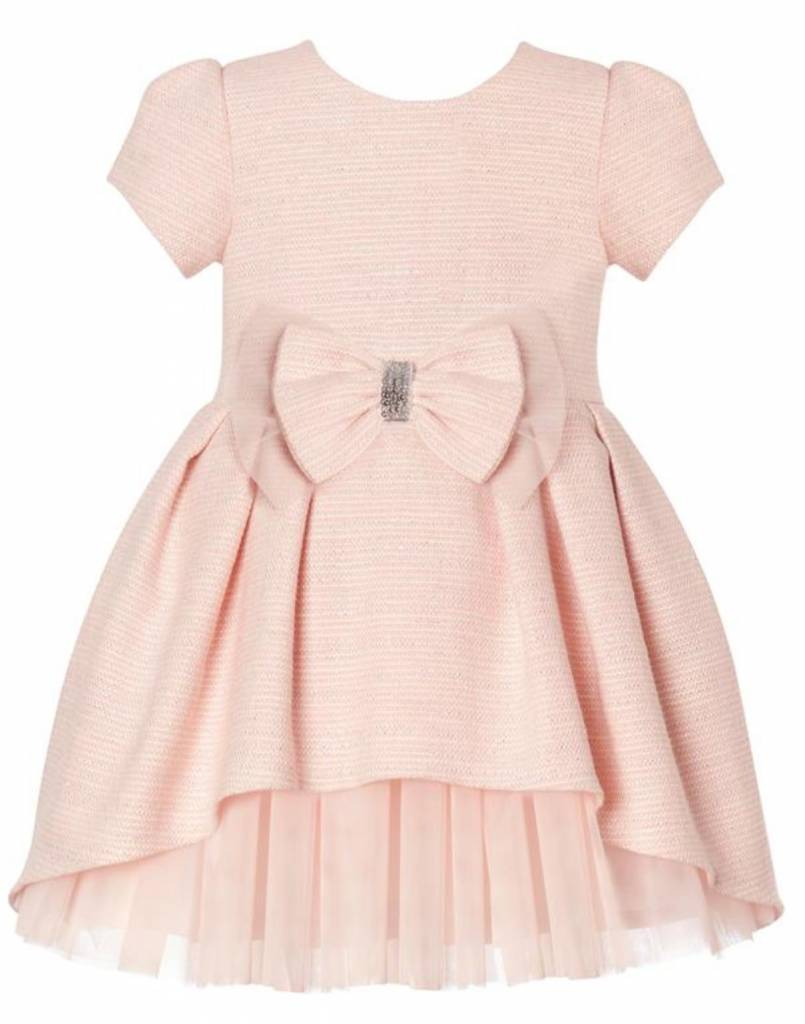 Balloon Chic Balloon Chic Pink Dress with Sparkle Bow and tulle
