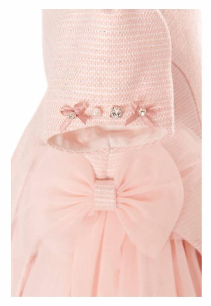 Balloon Chic Balloon Chic Pink Dress with Tulle Side