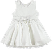 Ido iDO White Glitter Dress with Bow