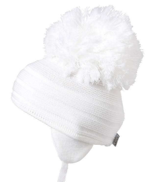 Satila White Purl Hat