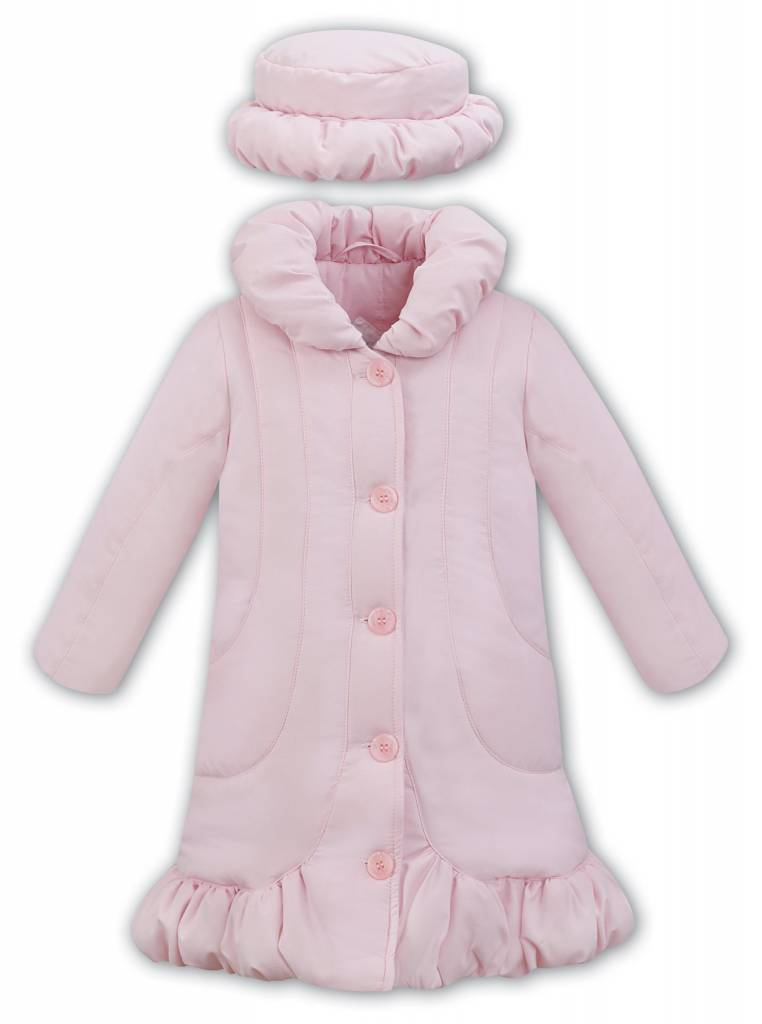 Dani Dani Girls Pink Coat Style D09300-1