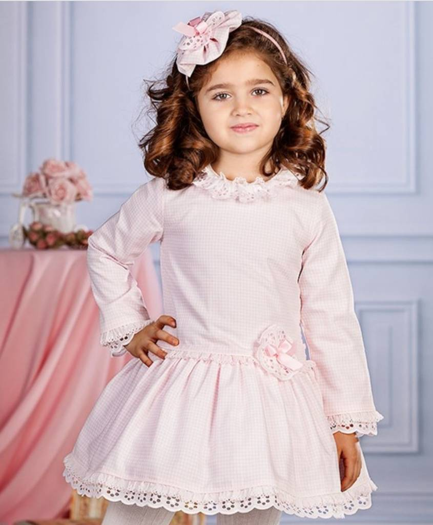 Petit Bebe Pink Low Waste Dress