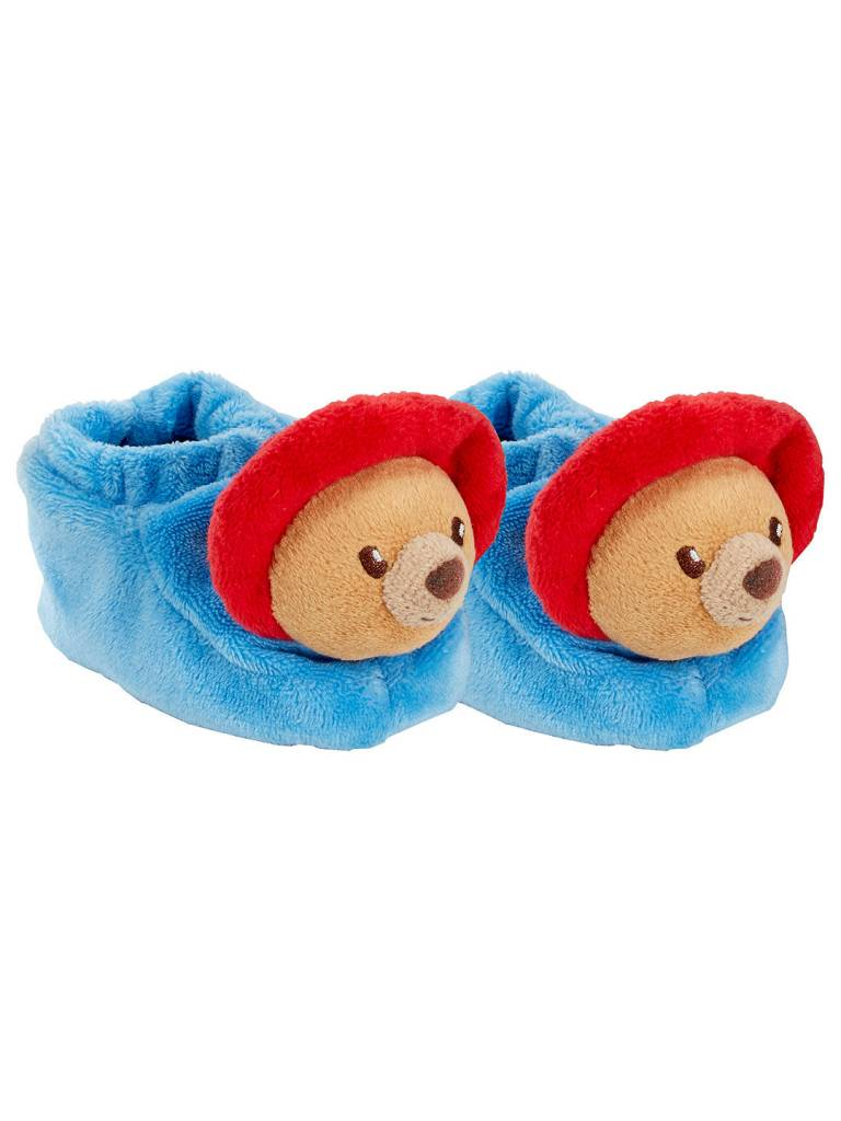 Paddington Bear First Slippers with rattle