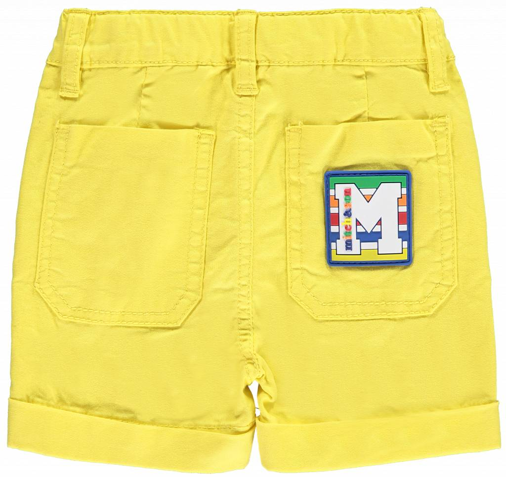 Mitch and Son Mitch & Son Sonny MS1127 Yellow  Twill Shorts