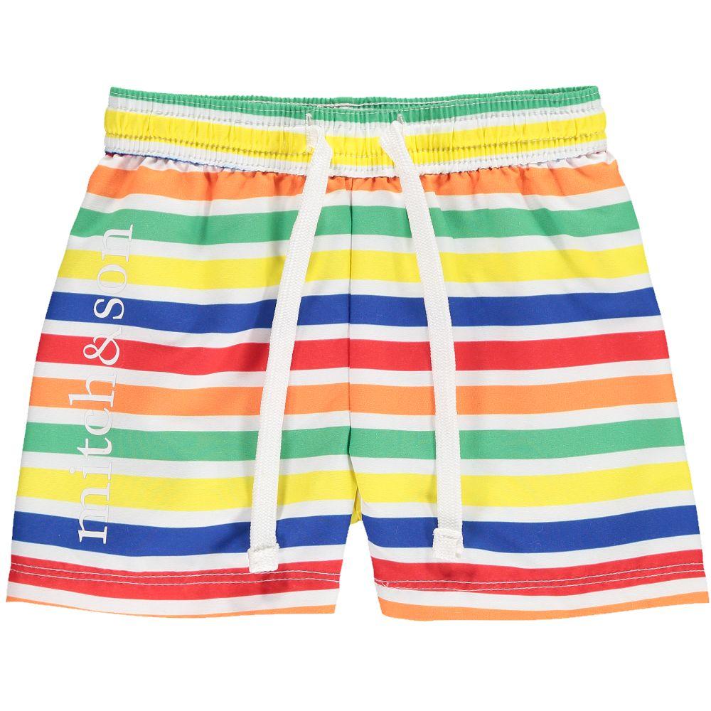 Mitch and Son Mitch & Son Thorpe MS1146 Stripe Swim Short