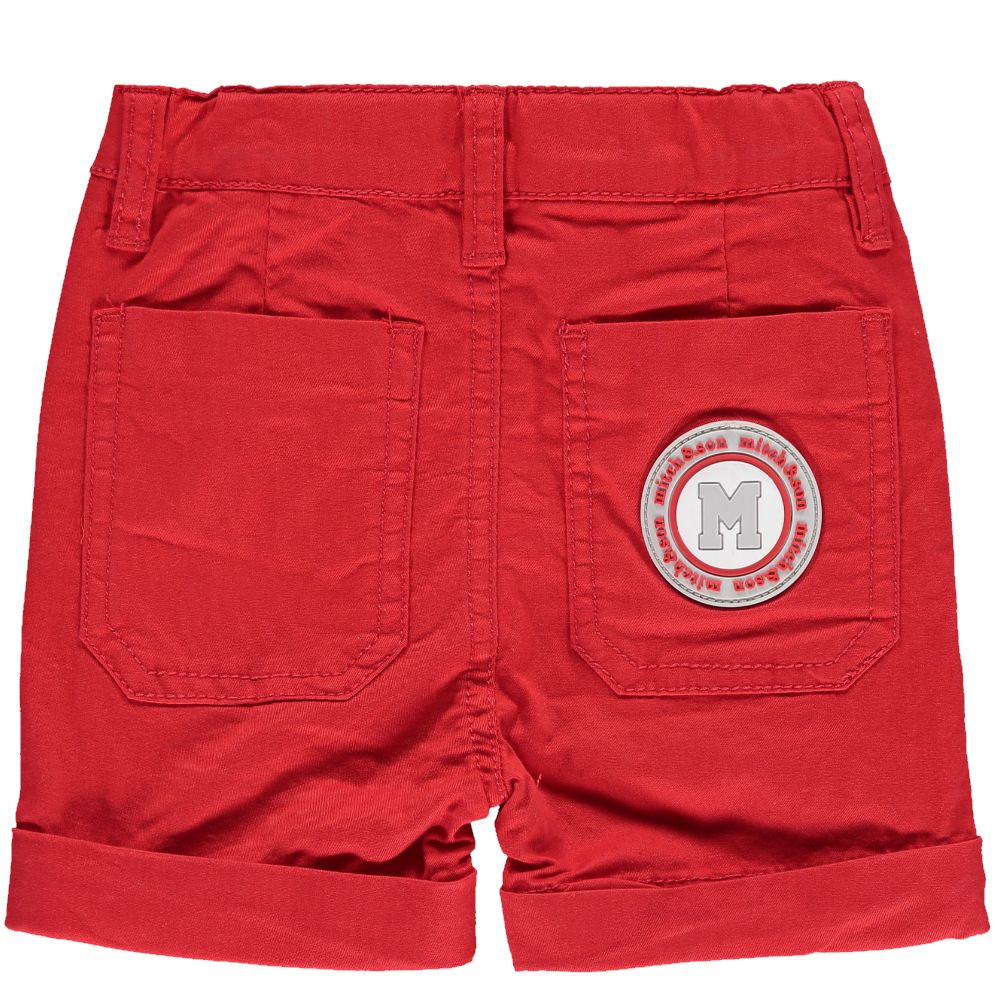 Mitch and Son Mitch & Son Sonny MS1127 Red Twill Shorts