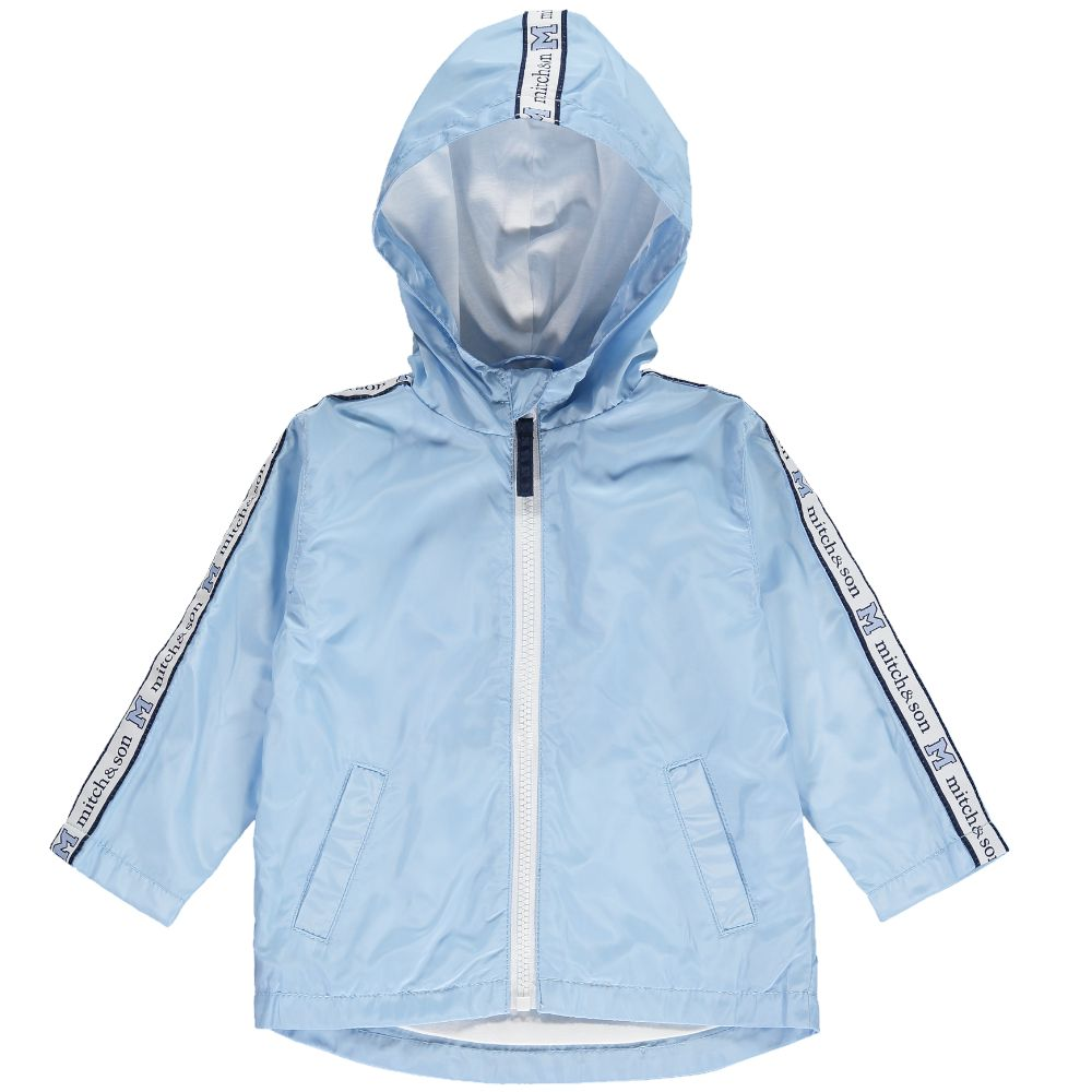 Mitch and Son Mitch & Son Jacob MS1100 Pale Blue Tape Parka