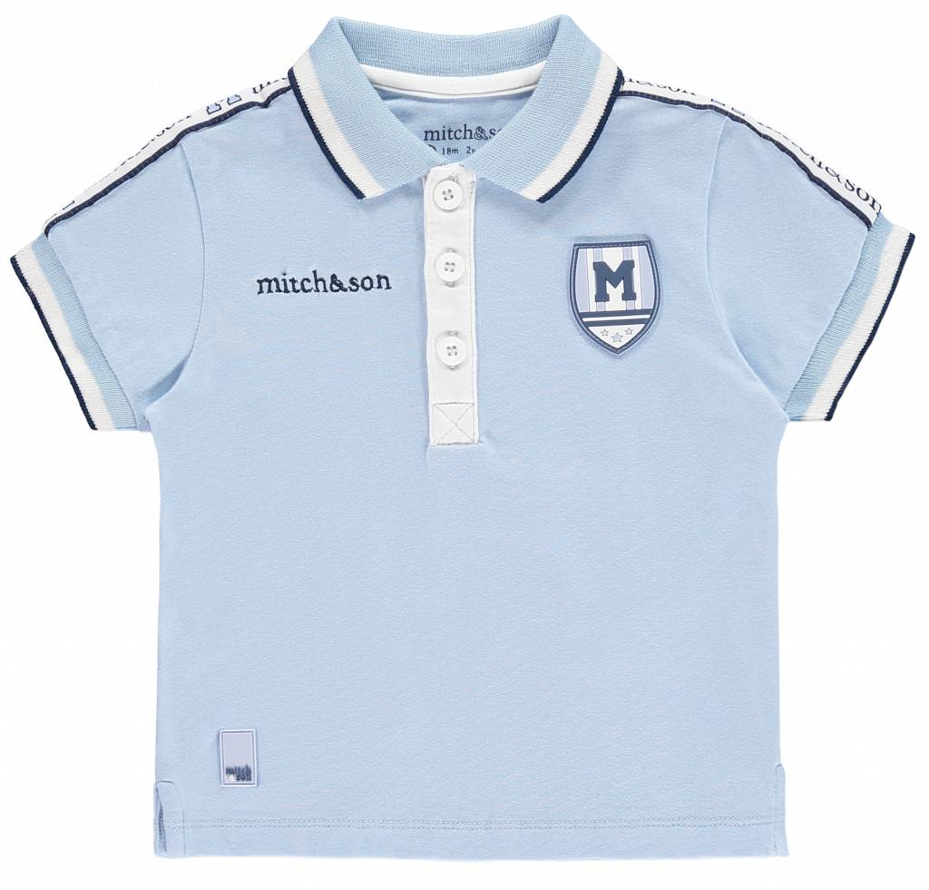 Mitch and Son Peel MS1113 Tape Trim Polo Top