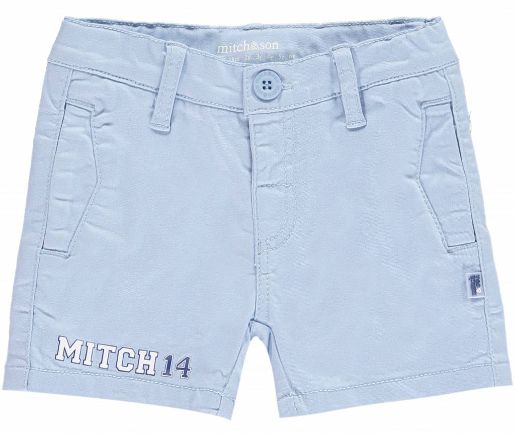 Mitch and Son Shearer MS1123 Pale Blue Mitch 14 Short