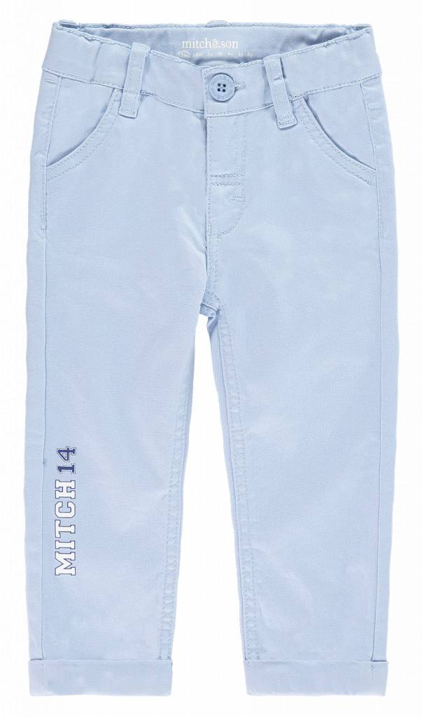 Mitch and Son Sheringham MS1128 Pale Blue Mitch 14 Twill Trouser
