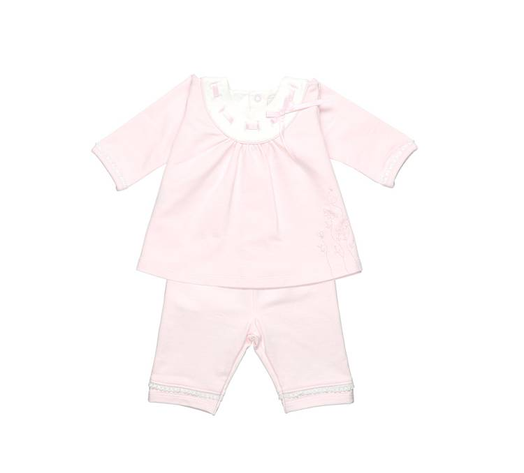 Emile et Rose Emily Et Rose Petula Top And Trousers Pale Pink