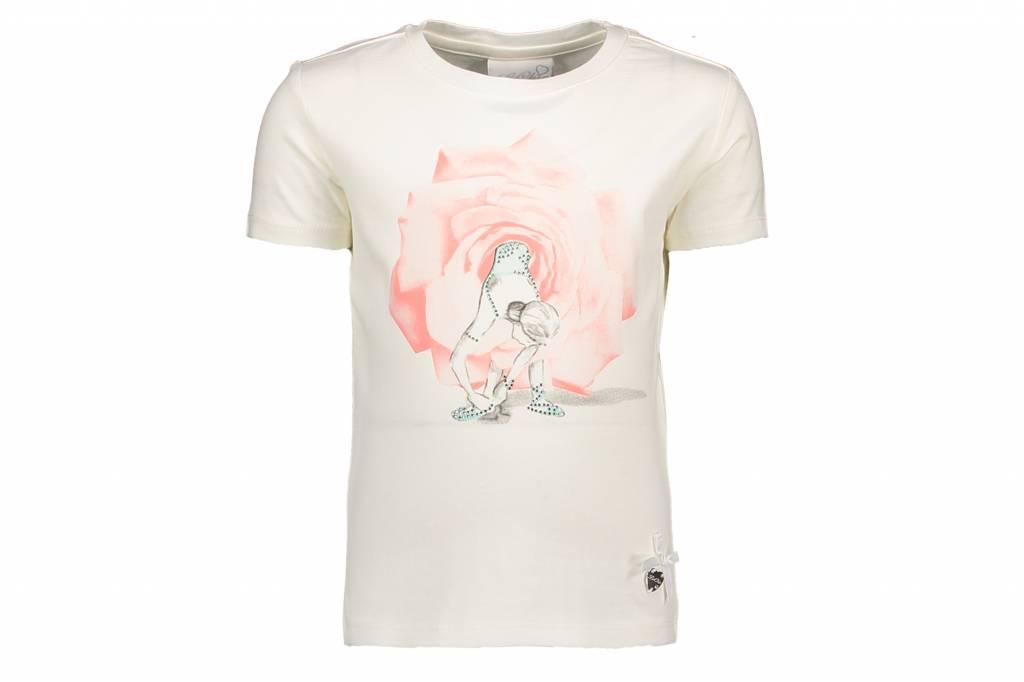 Lechic Le Chic T-Shirt Rose Tutu motif