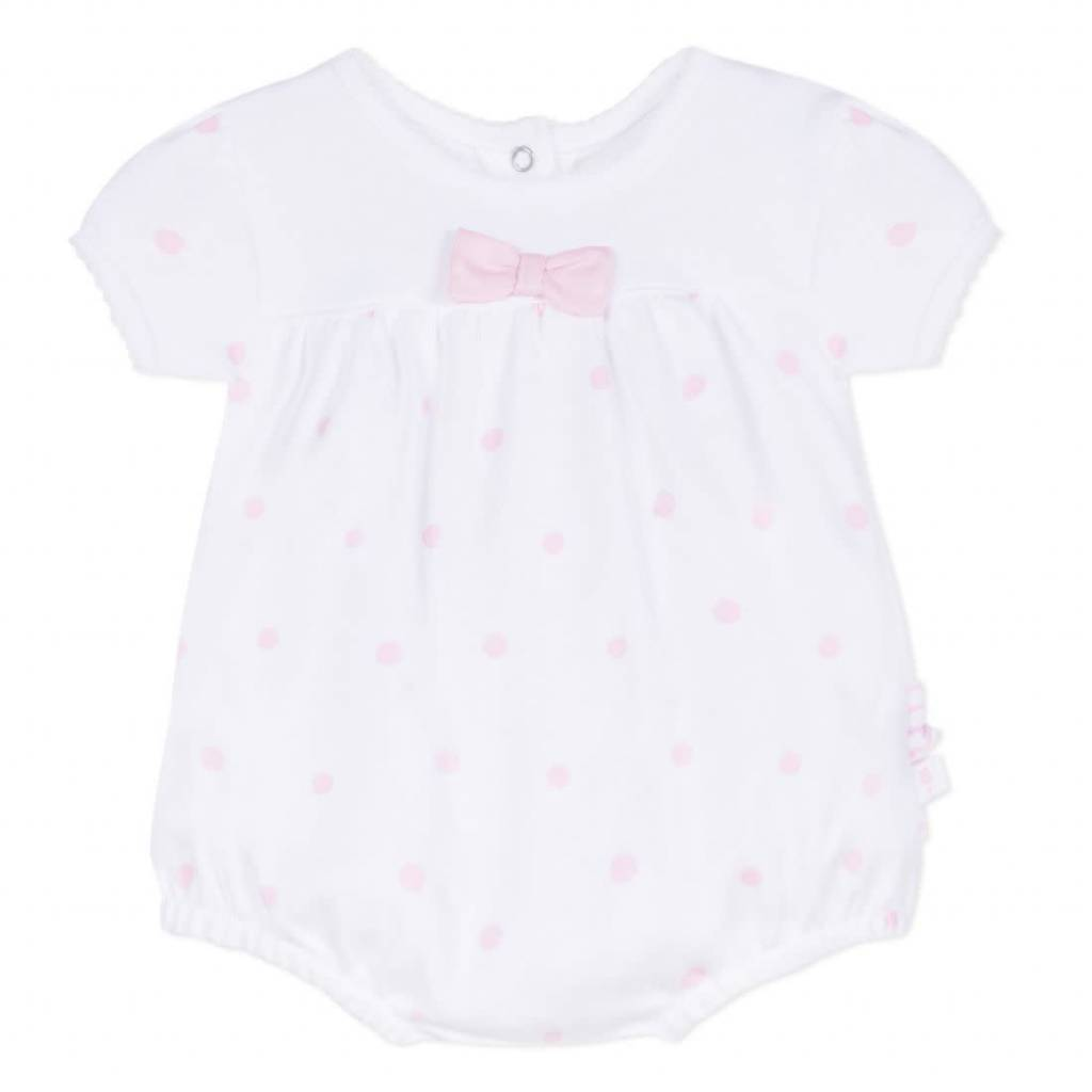 Absorba Absorba Pink Dot All In One Shortie