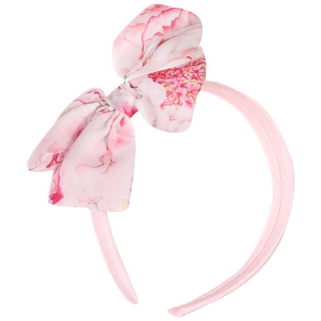 Patachou Patachou PAP/BAN2833530 Pink Floral Pink Headband